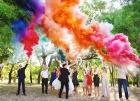 Цветной дым для свадьбы в Ставрополе